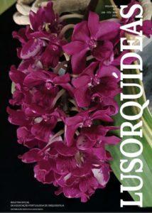 Portada de la revista de la Asociación Portuguesa de Orquídeas