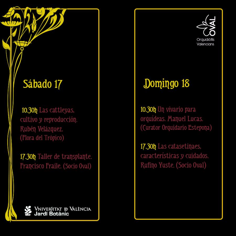 Programa exposición virtual de otoño OVAL 2020